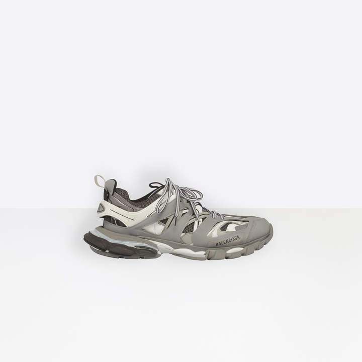 Balenciaga Track trainers in grey and white mesh and nylon