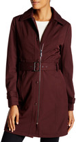 Kenneth Cole New York Belted Soft Shell Jacket