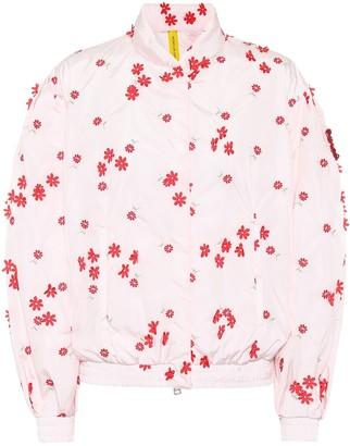 MONCLER GENIUS 4 MONCLER SIMONE ROCHA Persea embroidered bomber jacket