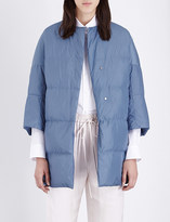 Jil Sander Camping quilted shell coat