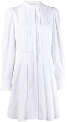Alexander McQueen pleated shirt dress