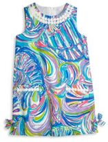 Lilly Pulitzer Toddler's, Little Girl's & Girl's Vintage Dobby Shift Dress