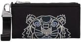 Kenzo Tiger print zip wallet
