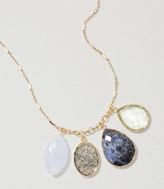 LOFT Multifaceted Drop Pendant Necklace