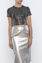 Kikiriki Studded Crop Top
