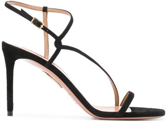 Aquazzura Strappy Stiletto-Heel Sandals