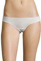 OnGossamer Cabana Cotton Thong Panties