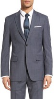 Theory Men's Wellar Trim Fit Houndstooth Wool Sport Coat