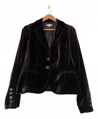 Vince Purple Velvet Jackets