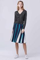 Diane von Furstenberg Melita Two Pleated Skirt
