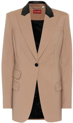 Altuzarra Hurst stretch-wool blazer