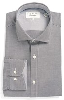 Ted Baker Men's Trim Fit Texture Dress Shirt