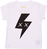 Munster Baby Boys Mikey Bolt Tee White