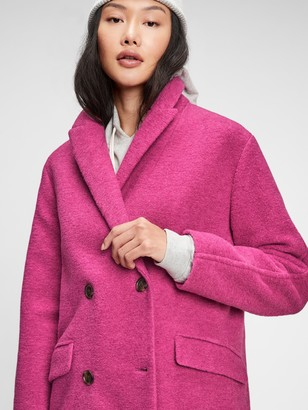 Gap Double-Breasted Wool Coat