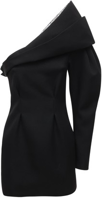 Isabel Marant Lidia Crepe & Sequin Mini Dress