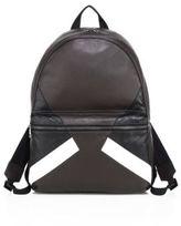 Neil Barrett Retro Modernist Calf Leather Backpack