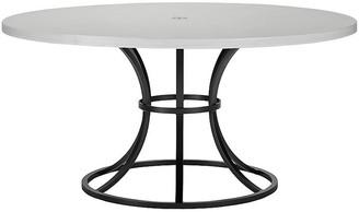 "Lane Venture Calistoga Outdoor 60"" Round Dining Table - Dark Bronze"