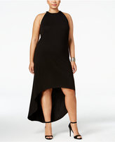 mblm by Tess Holliday Trendy Plus Size High-Low Dress