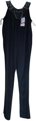Bel Air Black Viscose Jumpsuits