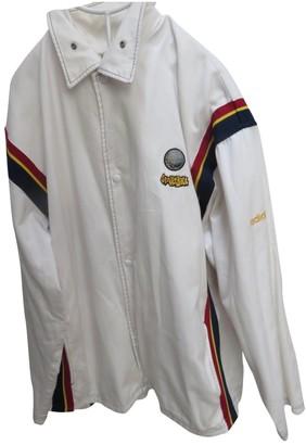 adidas White Cotton Jackets