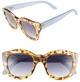 Le Specs Women's 'Runaways' 50Mm Sunglasses - Clear