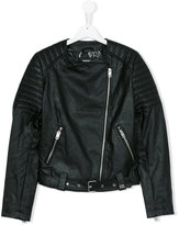 Diesel biker jacket - kids - Polyester/Polyurethane/Viscose - 14 yrs