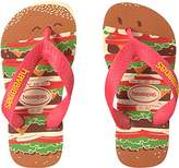 Havaianas Boys' Top Fast Food Sandal Flip Flop
