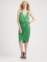 Under.ligne By Doo.ri Draped Wrap Dress