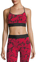 Koral Activewear Sweeper Versatility Camouflage Jacquard Sports Bra