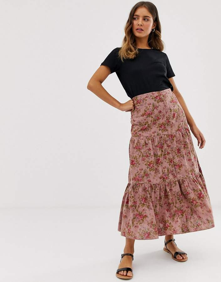 7a4827d632 Asos Mid Length Skirts - ShopStyle UK