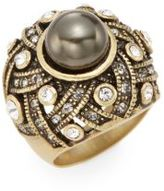 Heidi Daus Enticing Drama Swarovski Crystal Ring