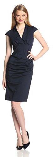 Nicole Miller Women's Hadley Ponte Dress