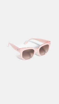 Burberry Oversized Acetate Sunglasses