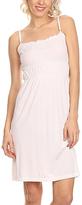White Smocked Sleeveless Sheath Dress