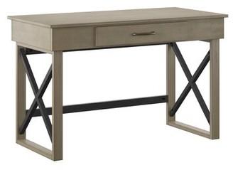 Danuel Solid Wood Desk Gracie Oaks Color: Gray