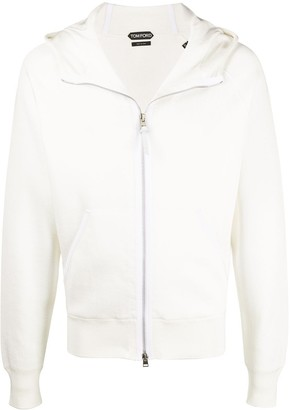 Tom Ford Zip-Through Hooded Sweatshirt