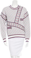 Chanel 2016 Patterned Knit Sweater w/ Tags