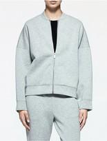 Calvin Klein Platinum Jersey Zip Jacket