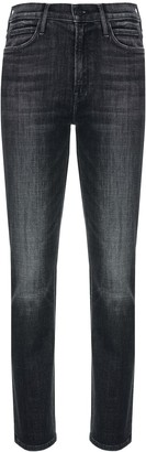 Mother High-Waist Slim-Fit Jeans