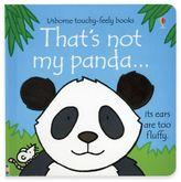 "Children's Sensory Board Book: ""That's Not My Panda"" by Fiona Watt"