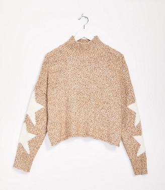 LOFT Lou & Grey Star Turtleneck Sweater