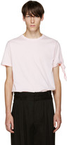 J.W.Anderson Pink Single Knot T-Shirt