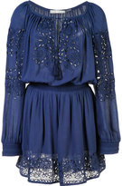 Alice + Olivia Alice+Olivia embroidered mini-dress