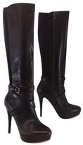 Michael Kors Kors Brown Tall Leather Boots