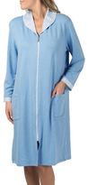 Claudel Zip-Front Duster Robe