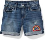 Old Navy Distressed Denim Shorts for Girls