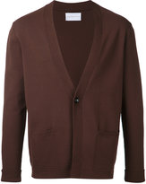 ESTNATION front pockets cardigan - men - Polyester/Rayon - S
