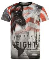 Fabric Ny Flag T Shirt Mens