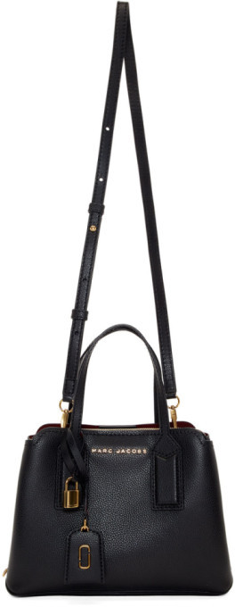 Marc Jacobs Black The Editor Crossbody Bag