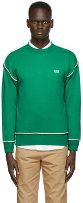 Ader Error Green Masking Basic Sweater